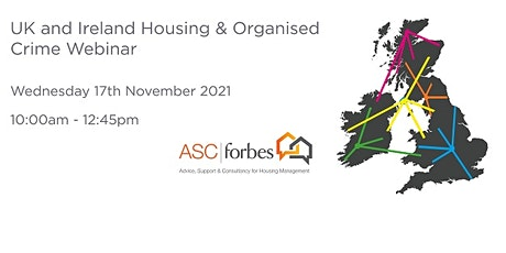 Joint UK / Ireland Housing & Organised Crime Webinar tickets