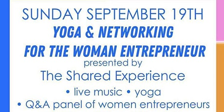 Brunch, Yoga, & Networking: For The Woman Entrepreneur tickets