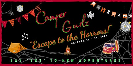 """""""Escape to the HORRORS!"""" October 29- 31, 2021 tickets"""