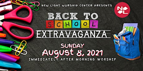 New Light Worship Center Worship Experience- August 8, 2021 tickets