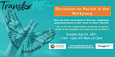 Discussion on Racism at Work tickets