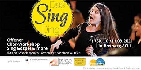 Das Sing Ding Tickets