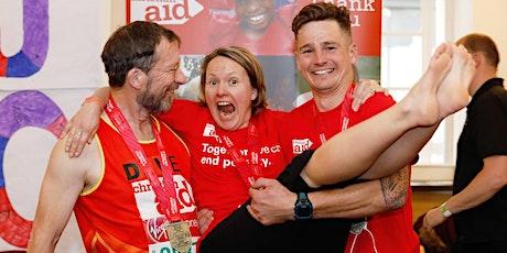 Virgin Money London Marathon  2021 for Christian Aid tickets