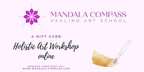 Holistic Healing Art Workshop: Meditative Mandala Drawing & Interpretation tickets
