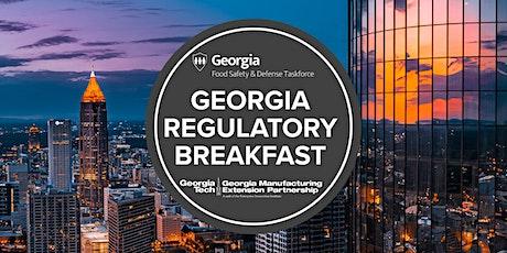 Georgia Regulatory Breakfast Tickets