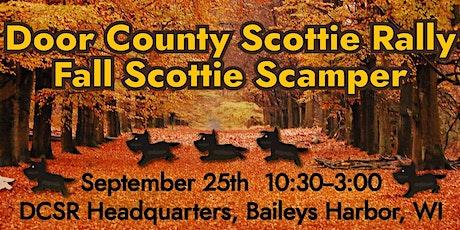 DOOR COUNTY SCOTTIE RALLY FALL SCOTTIE SCAMPER tickets