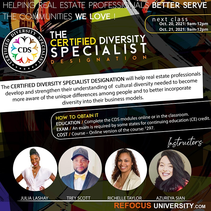 The Certified Diversity Specialist (CDS) Designation image