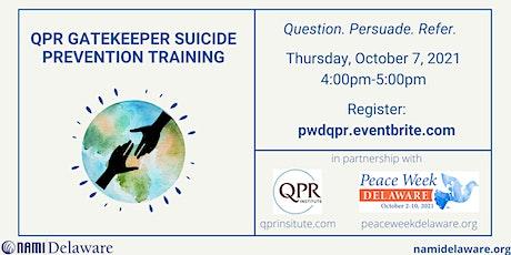 QPR Gatekeeper Suicide Prevention Training tickets