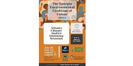 Atlanta Climate Summer Listening Sessions billets