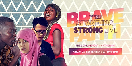 Standing Strong LIVE Brave Faith Youth Gathering tickets