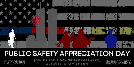 Public Safety Appreciation Day tickets