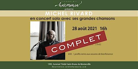 MICHEL RIVARD concert SOLO tickets