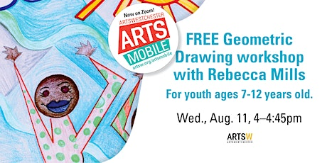 FREE | ArtsMobile | Geometric Drawing workshop with Rebecca Mills tickets