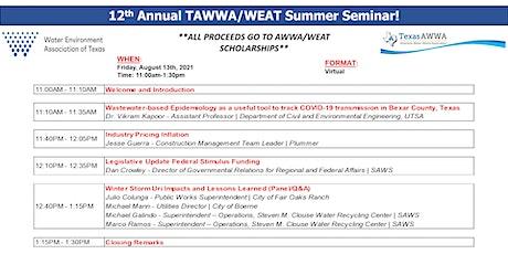 12th Annual TAWWA/WEAT Summer Seminar tickets