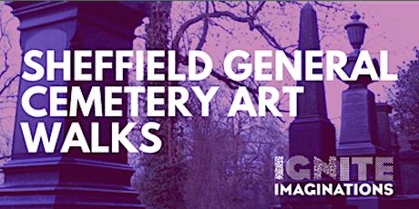 Sheffield General Cemetery Creative Writing Walk, with artist Gevi tickets