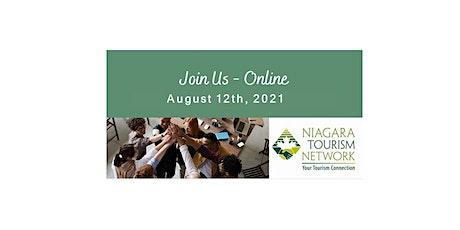 Niagara Tourism Network August 12th, 2021 - Virtual Meeting tickets