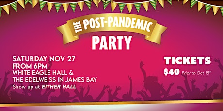 The Post-Pandemic Party tickets