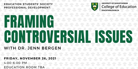 Framing Controversial Issues w/Dr. Jenn Bergen tickets