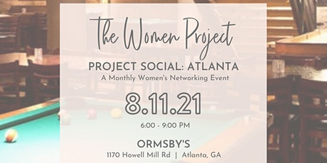 Project Social: Atlanta - A Women's Networking Event tickets