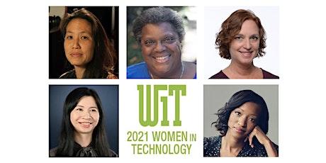2021 Women in Technology Awards tickets
