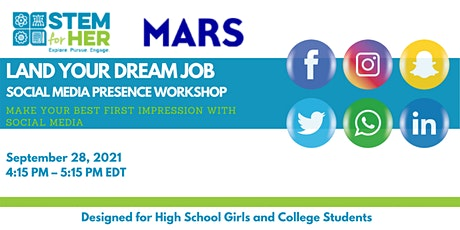 Land Your Dream Job: Make Your Best First Impression with Social Media tickets