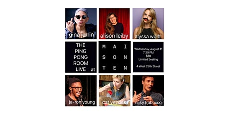 The Ping Pong Room Live™ tickets