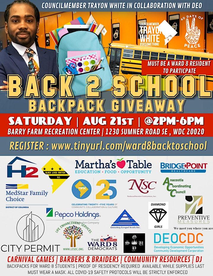Back 2 School Backpack Giveaway image