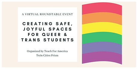 Creating Safe, Joyful Spaces for Queer & Trans Students tickets