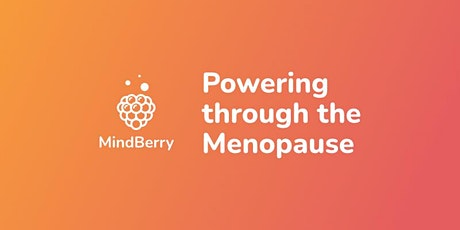 Powering through the Menopause tickets