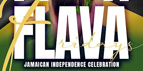 FLAVA FRIDAYS | JAMAICA INDEPENDENCE CELEBRATION ATLANTA tickets