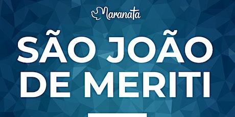 Celebração 08  agosto    domingo   São João de Meriti ingressos