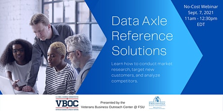 How to Use Data Axle Reference Solutions for Business Planning Webinar tickets