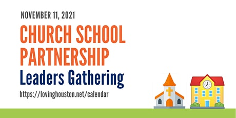 Church School Partnership Leaders Gathering tickets