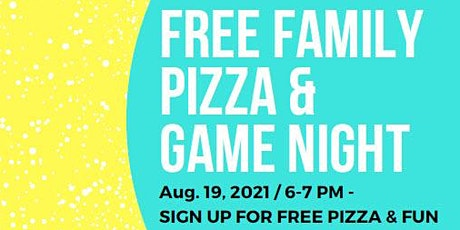 Virtual Pizza and Game Night (Free!) tickets
