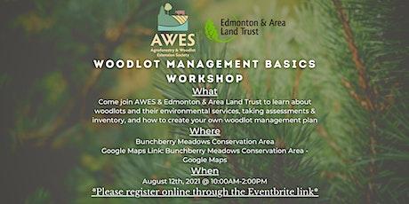 Woodlot Management Basics Workshop tickets