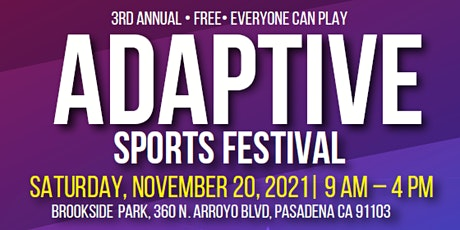 Pasadena Adaptive Sports Festival 2021 tickets
