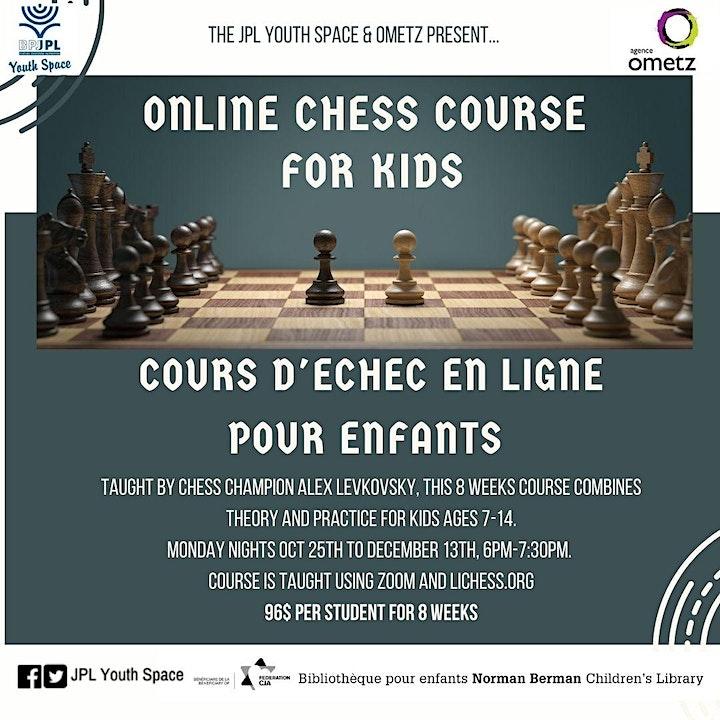 Online Chess Course led by Alex Levkovsky image