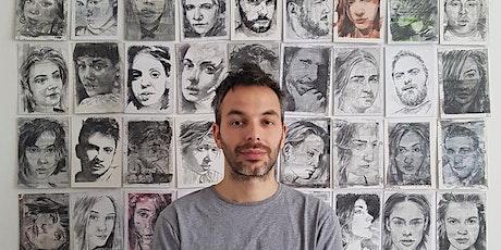Meet the Artist Dinner- Guglielmo Alfarone billets