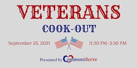 Veterans Cookout tickets