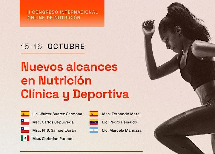 Imagen de II Congreso Internacional: Nuevos alcances en Nutrición Clínica y Deportiva