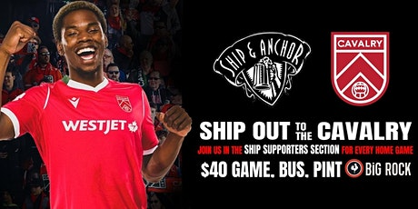 SHIP OUT - CAVALRY vs VALOUR tickets