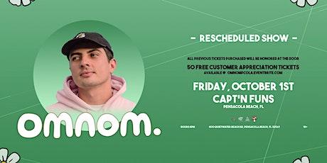Omnom @ Capt'n Funs Pensacola Beach, FL tickets