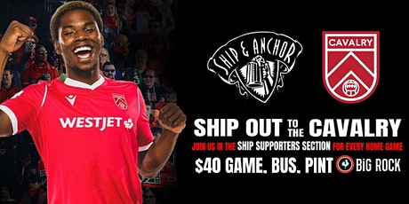 SHIP OUT - CAVALRY vs HFX WANDERERS tickets