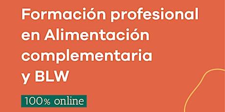 FORMACIÓN EN ALIMENTACIÓN COMPLEMENTARIA Y BLW. 6ta cohorte. entradas