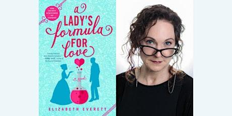 Elizabeth Everett Virtual Event   A Lady's Formula for Love tickets