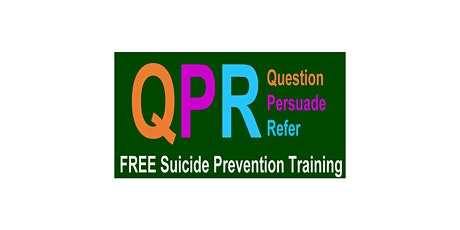 QPR  Virtual Frontline Workers Suicide Prevention Training tickets