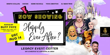 """Buff Faye's """"Happily Ever After"""" Drag Brunch ** Gastonia ** tickets"""