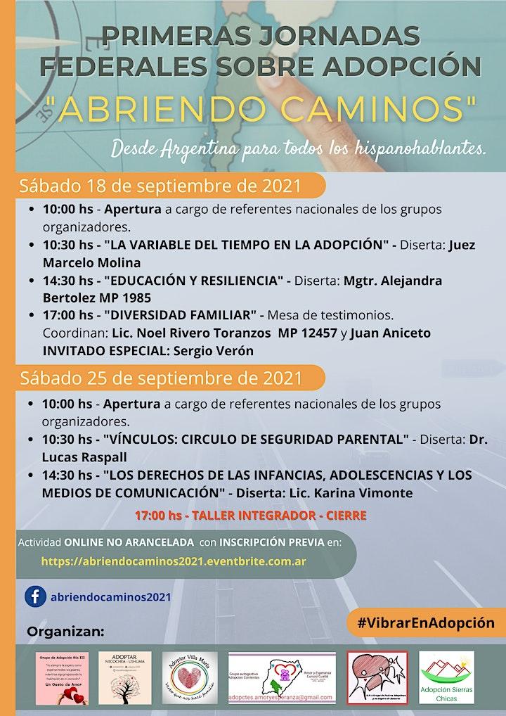 """Imagen de Primeras Jornadas  Federales sobre Adopción  - """"Abriendo Caminos"""""""