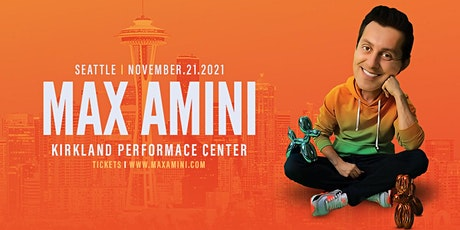 Max Amini Live in Seattle tickets