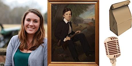 Online Portrait Artist Samuel Shaver Brown Bag Lecture tickets